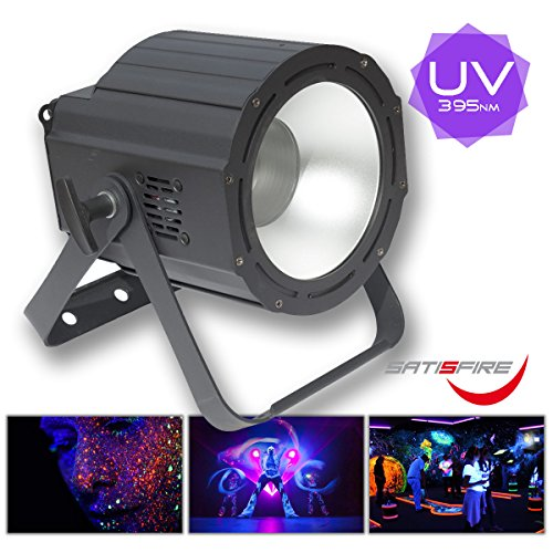 UV COB CANNON 100W, Hochleistungs LED UV Fluter, DMX, flickerfrei für Videoaufnahmen, High-Power Version | SATISFIRE